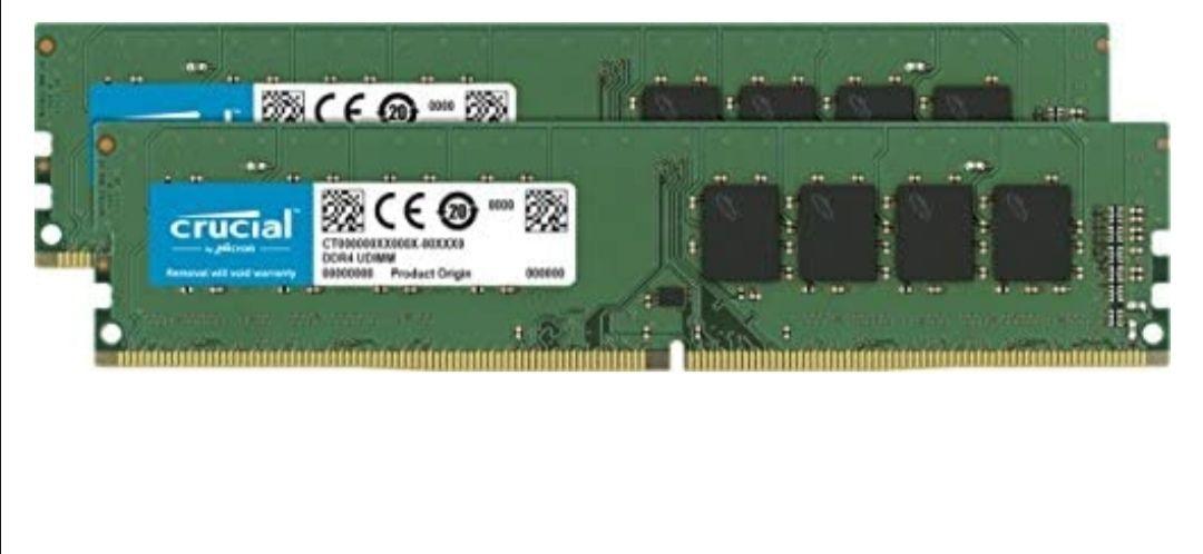 RAM Crucial DDR4 16GB (2x8GB) 2666 MT/s