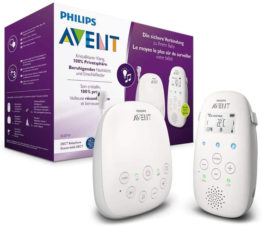 Philips Avent Vigilabebes DECT solo 43€