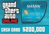 TARJETA SHARK 200.000$ GTA5