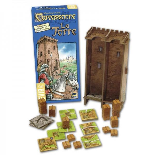 LA TORRE Expansión Carcassonne (primera edición)