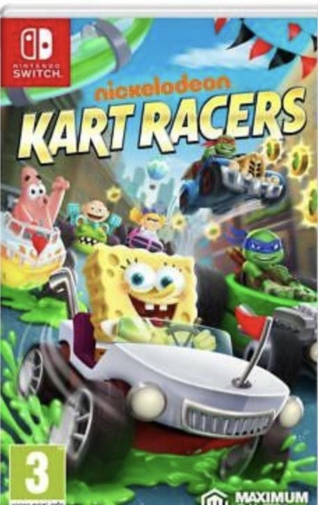 Nickelodeon Kart Racers Nintendo Interruptor Nuevo y Precintado Pal Reino Unido