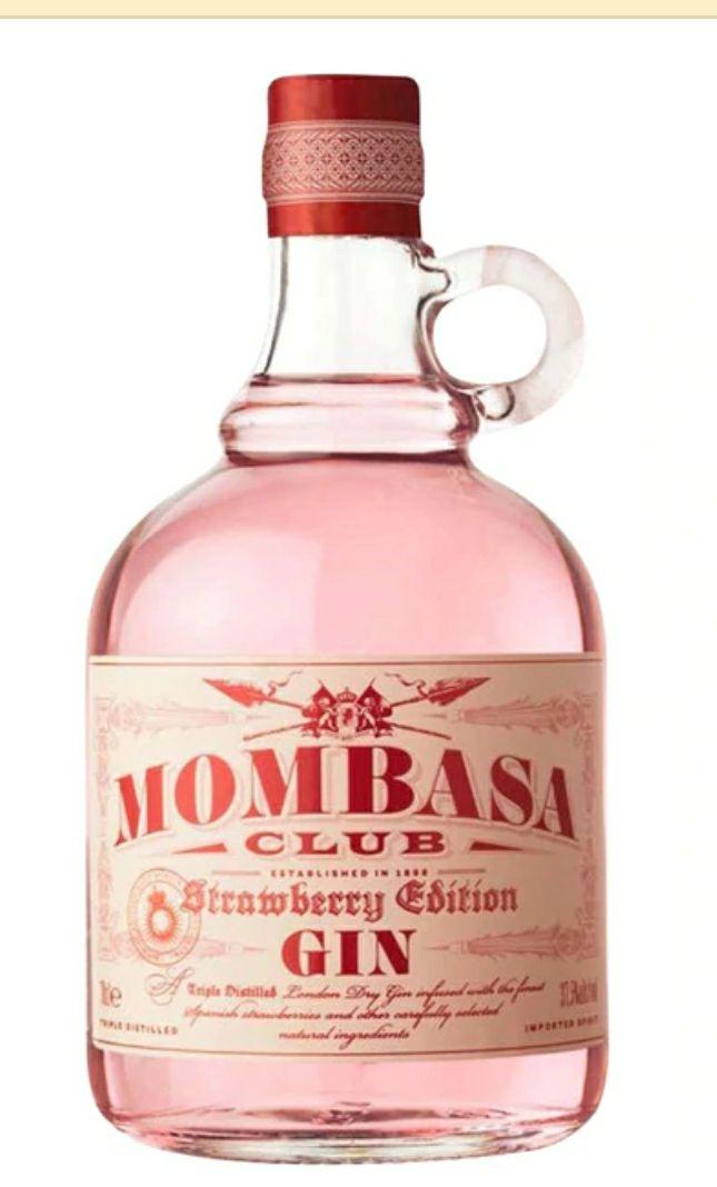 MOMBASA Ginebra strawberrybotella 70 cl