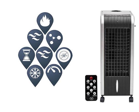 Climatizador Joal, Frío / Calor / Humidificador / Ionizador