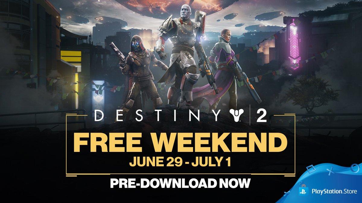 PS4: Destiny 2 (Finde gratis del 29-06 al 01-07)