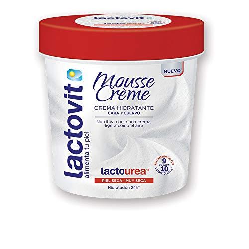 Lactovit Lacto-Urea Mousse Creme Cara & Cuerpo 250 ml