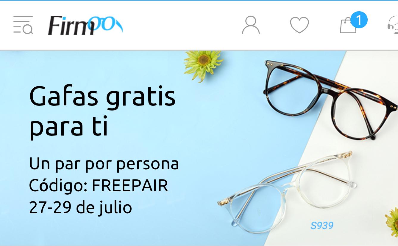 Gafas graduadas por 10 euros