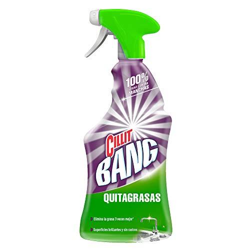 Cillit-Bang Quitagrasas Limpiador - 750 ml, 1 unidad (compra recurrente y al tramitar)disponible para Baños en descripción