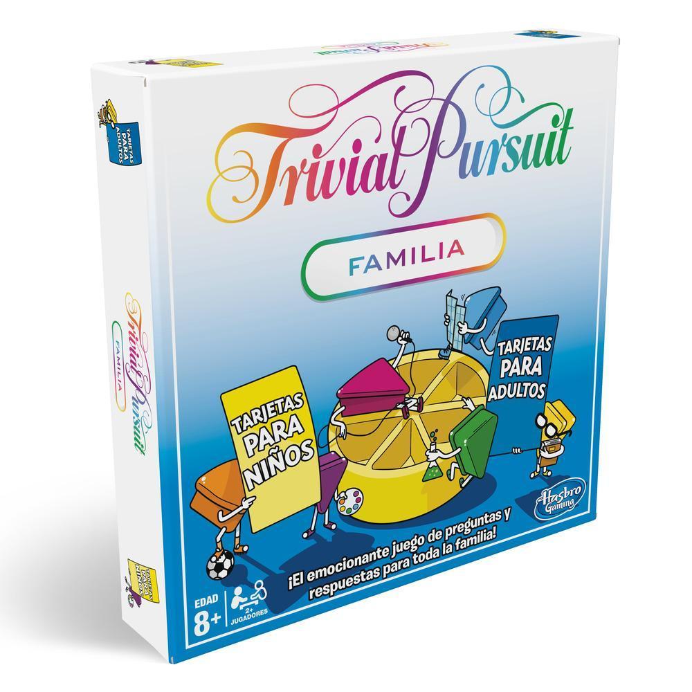 Juego de mesa Trivial Pursuit Familia, HASBRO (AlCampo Diagonal Mar)