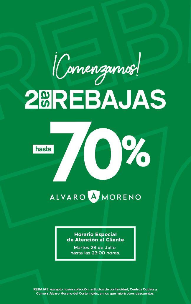 Rebajas Álvaro Moreno 70%