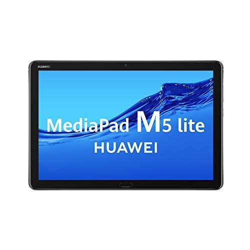 """HUAWEI MediaPad M5 Lite - Tablet de 10.1 """"(Kirin 659 4xA53, 25.6 cm, Wi-Fi, 4 GB + 64 GB, Android 8.0) color gris"""