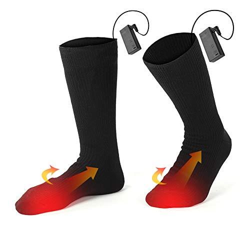 Par de calcetines calentitos ideales para esta época del año.