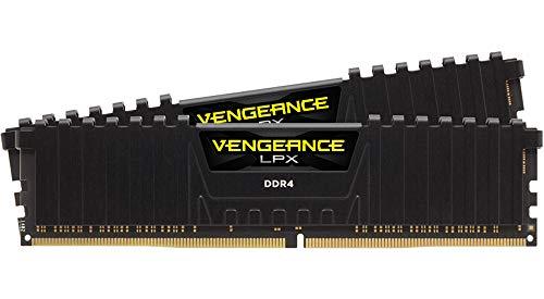Corsair Vengeance LPX - Memoria interna de 16 GB (2 x 8 GB), DDR4, 3200Mhz CL16, color Negro.