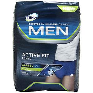 Muestras Gratis de Tena Men Active Fit Pants