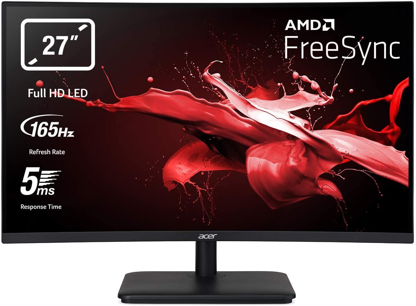 """Monitor Acer 27"""" Curvo 165Hz solo 179€"""