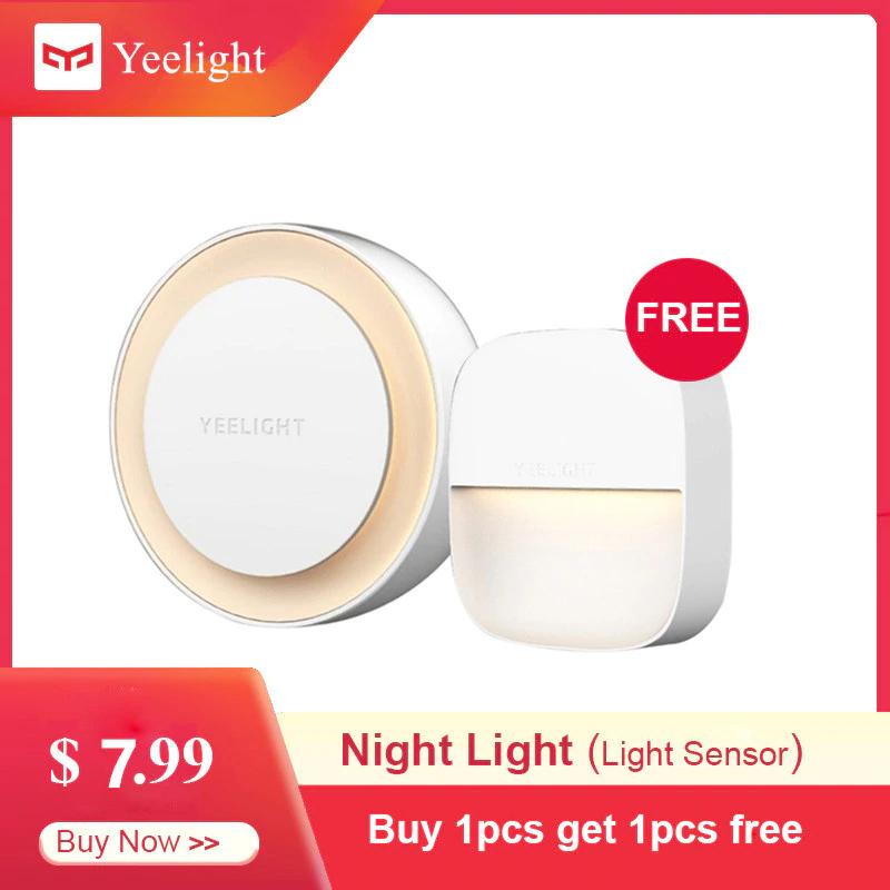 Luz Nocturna inteligente original YEELIGHT 2 unidades y en 3 modelos.