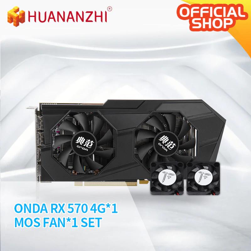 HUANANZHI Onda - AMD Radeon RX 570 (4G) NUEVA