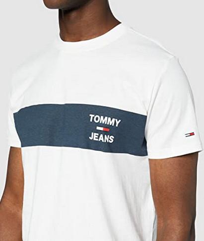 Camiseta Tommy Hilfiger TJM Chest Stripe (Tallas S, L y XXL)