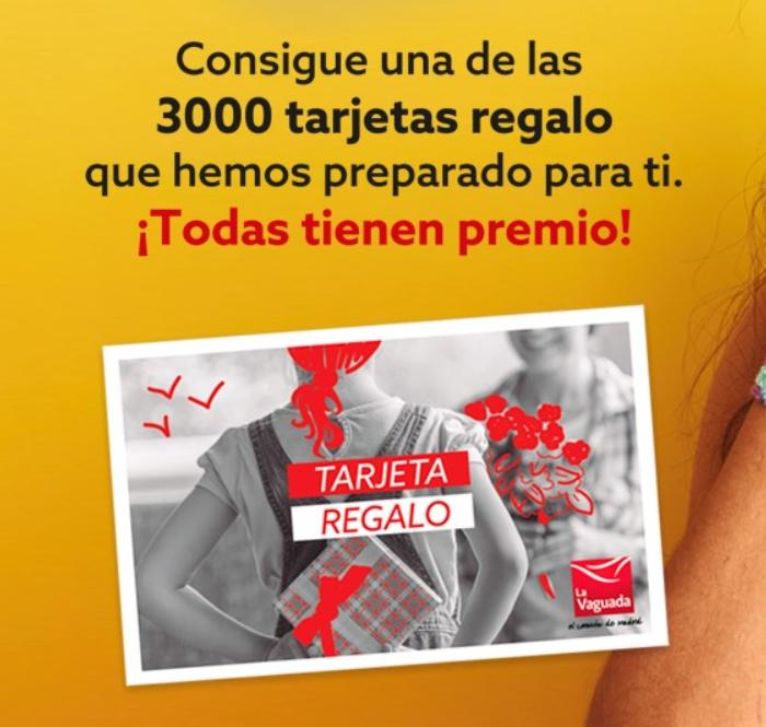 Tarjeta regalo de hasta 500€ con Samplia (Vaguada Madrid)