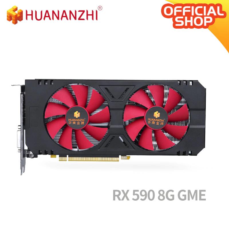 HUANANZHI AMD Radeon RX 590 GME (8G)
