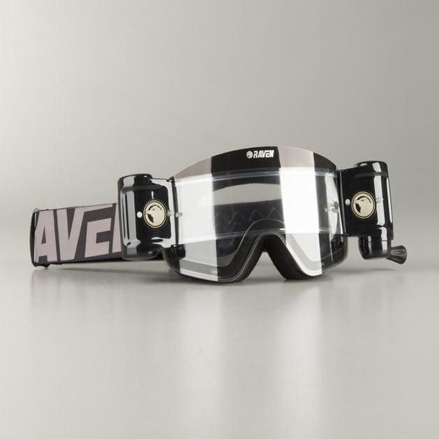 Gafas de Cross Raven Edge The Look - Lente Roll-Off Transparente