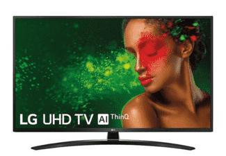 "TV LED 55"" - LG 55UM7450PLA Panel IPS UHD 4K, Smart TV IA, Quad Core, Sonido DTS Virtual: X"
