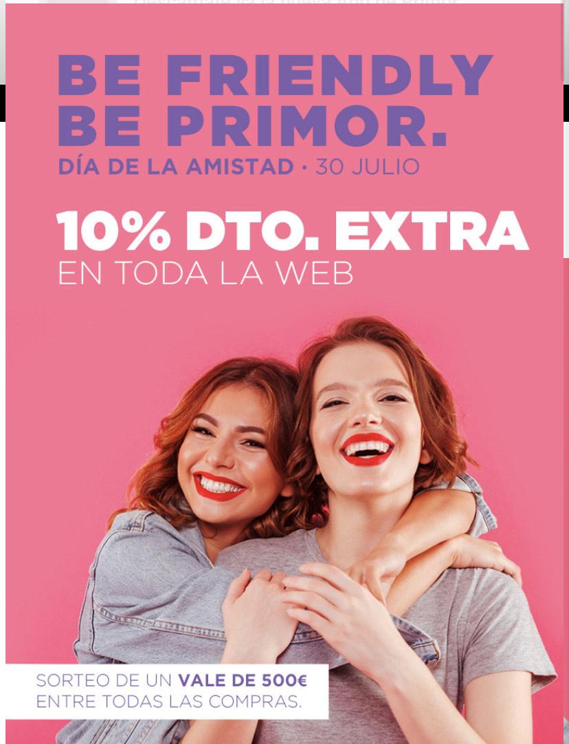 -10% extra en toda la web solo HOY 30/7