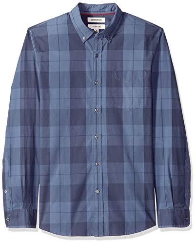 TALLA L - Goodthreads Slim-fit Long-Sleeve, Camisa para Hombre