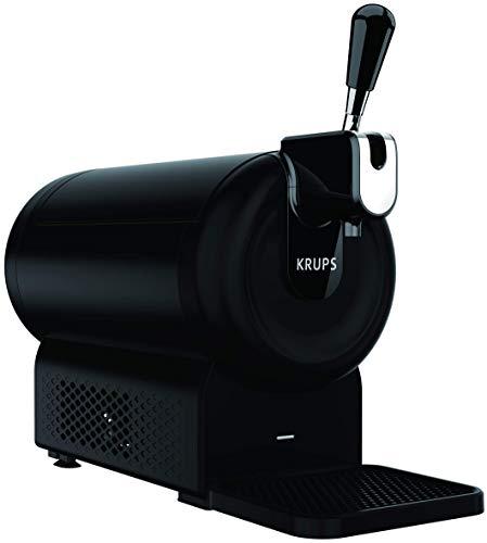 Krups The Sub Compact Tirador de Cerveza de Barril, Negro mate (Reacondicionado)