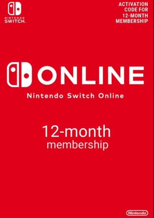 Suscripción 12 meses Switch Online por solo 14,42€