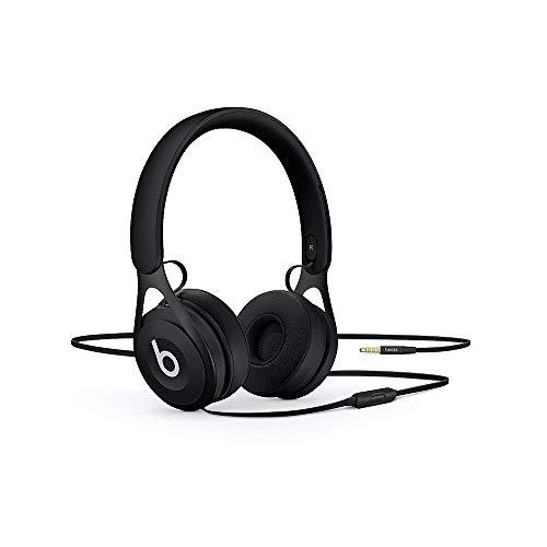 Beats EP - Auriculares supraaurales con cable - Sin batería para escuchar tanto como quieras, controles y micrófono integrados - Negro