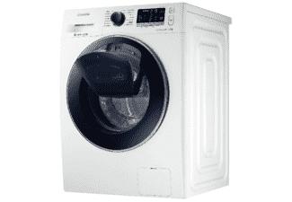 Lavadora carga frontal - Samsung WW80K5410UW, 8 kg, 1400 rpm, AddWash, Clase A+++, Blanco