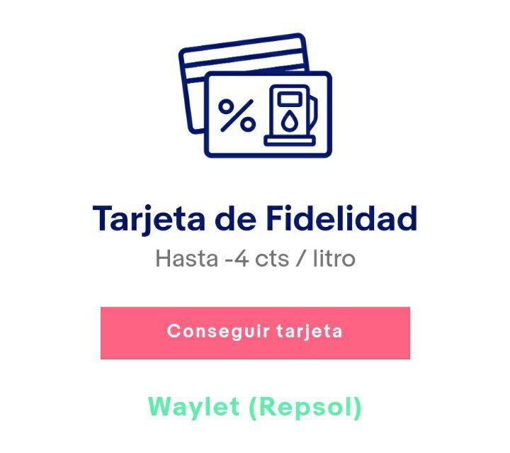 Dto. en repostaje (Repsol) con ebayextra