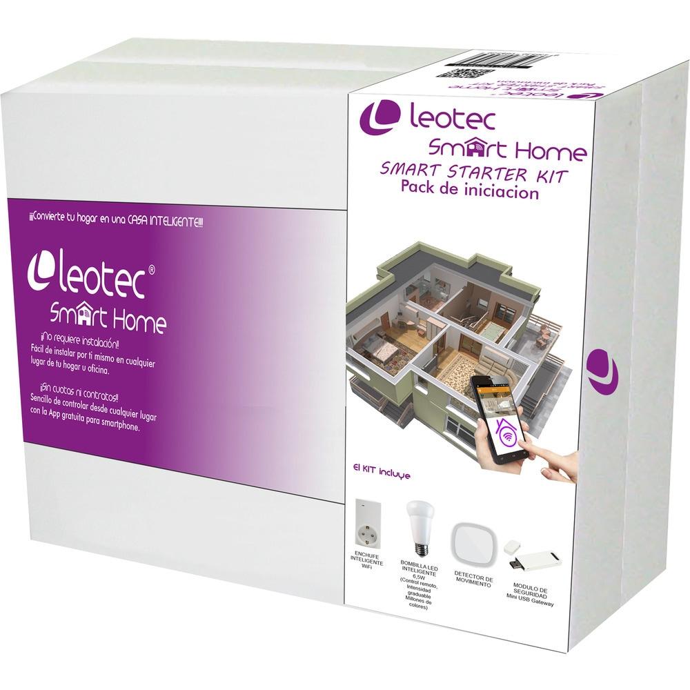 Leotec SmartHome, Kit de inicio (Central Gateway + 2 detectores movimiento + sensor puerta)
