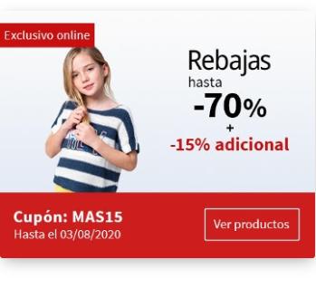 Carrefour - Rebajas hasta el 70% + 15% adicional