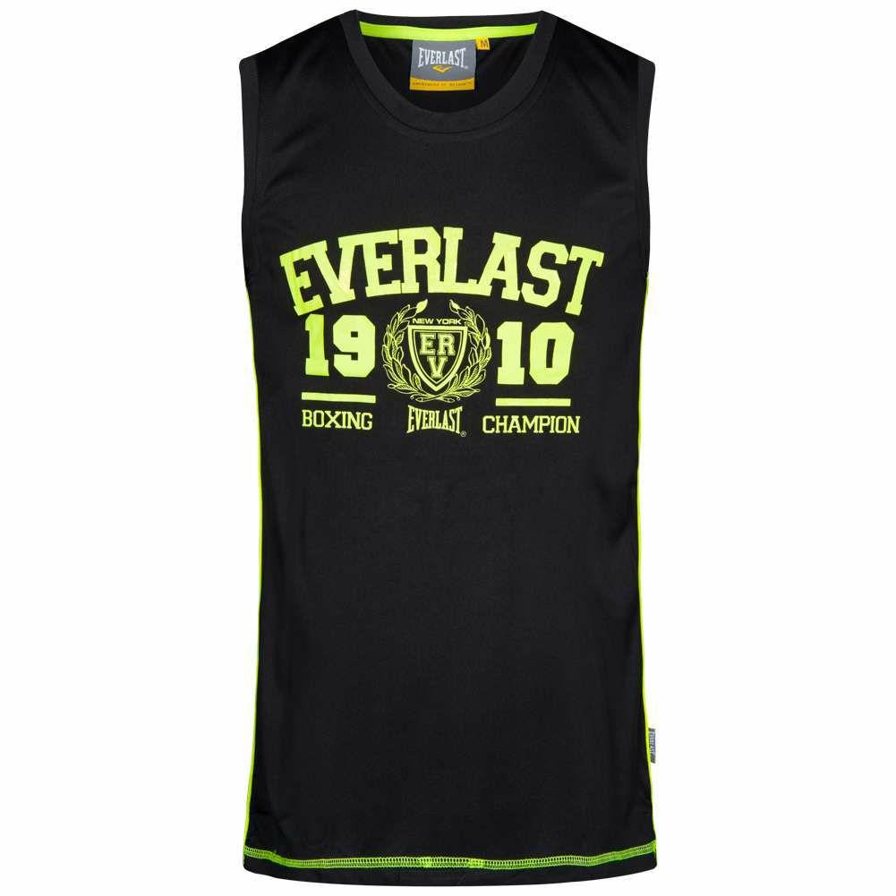 EVERLAST camiseta de tirantes ( Muscle Shirt Fitness Negro)