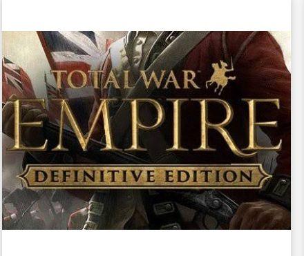 Total War: EMPIRE Definitive Edition Steam CD Key