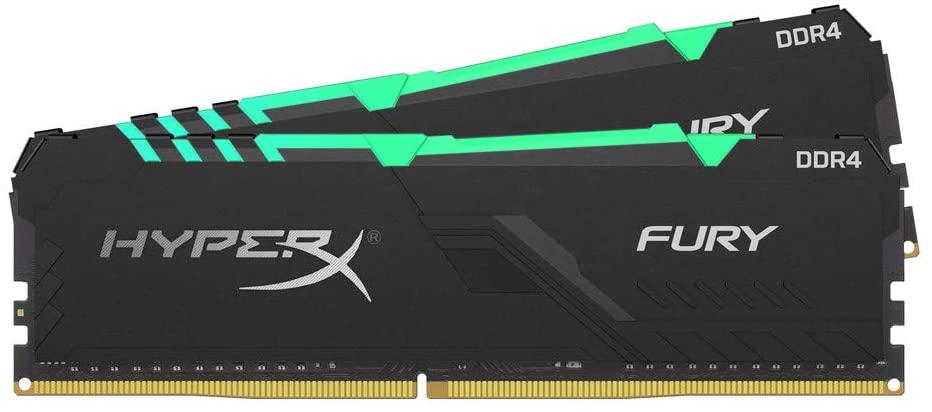 HyperX Fury 16GB RAM 3200MHZ RGB (Amazon Alemania)