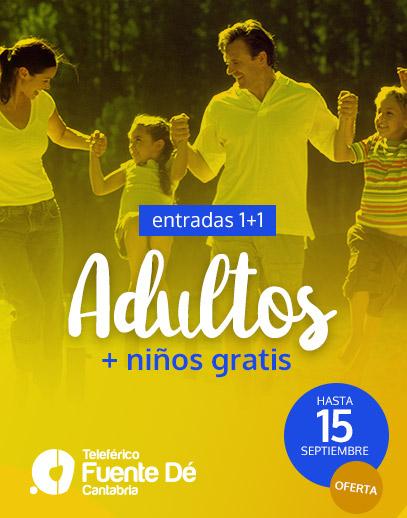 CANTABRIA (del 01/08 al 15/09): Niños gratis en Parque de Cabárceno, Cueva El Soplao y Teleférico de Fuente Dé