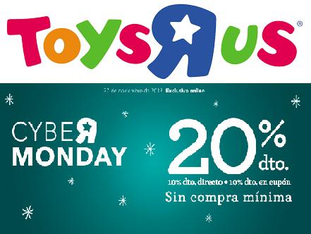 ToysRus -20% de descuento en todas las compras