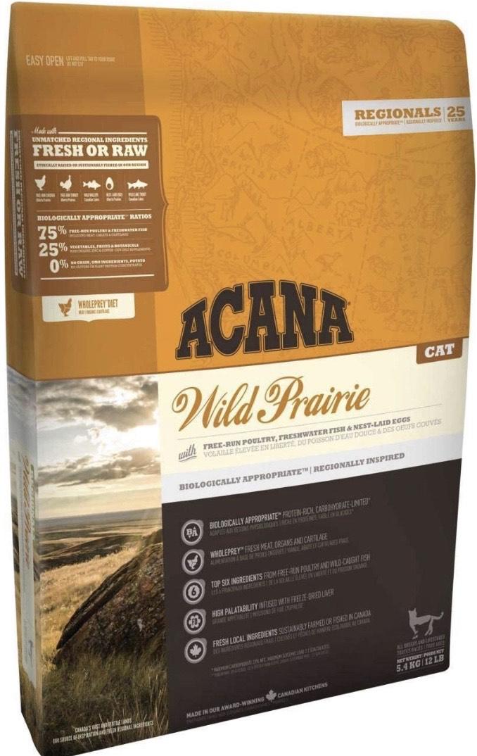 Acana Wild Praire comida para gato 5,4 KG 1 Saco