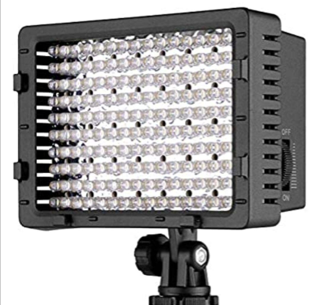 NEEWER CN-160 - Panel de luz LED regulable