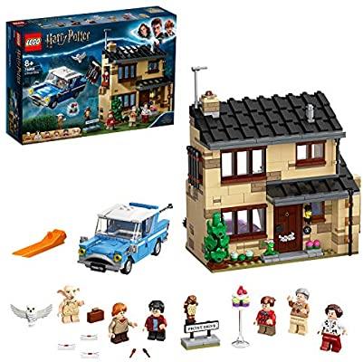 Oferta flash LEGO Harry Potter Número 4 de Privet Drive Set con Ford Anglia