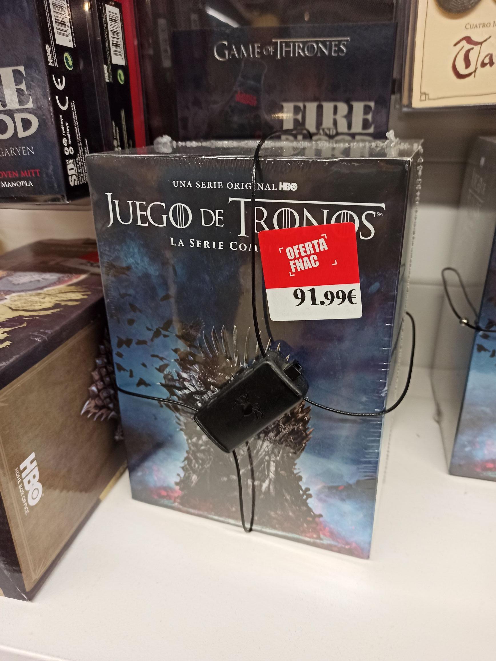 Juego De Tronos Temporada 1-8 Blu-Ray Colección Completa [Blu-ray] [FNAC de Granada]