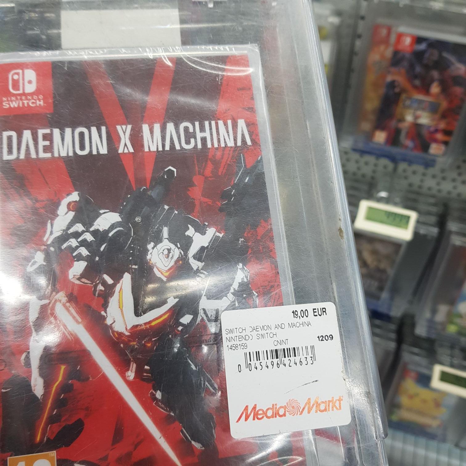 Daemon X Machina Nintendo Switch (Mediamarkt Santander)
