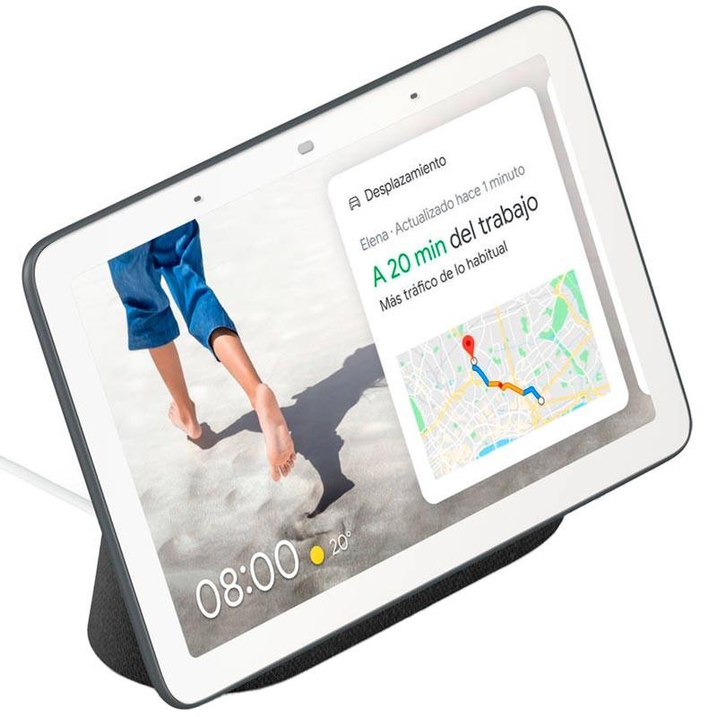 Altavoz Inteligente y Asistente con Pantalla Google Nest Hub Tiza - Embalaje B