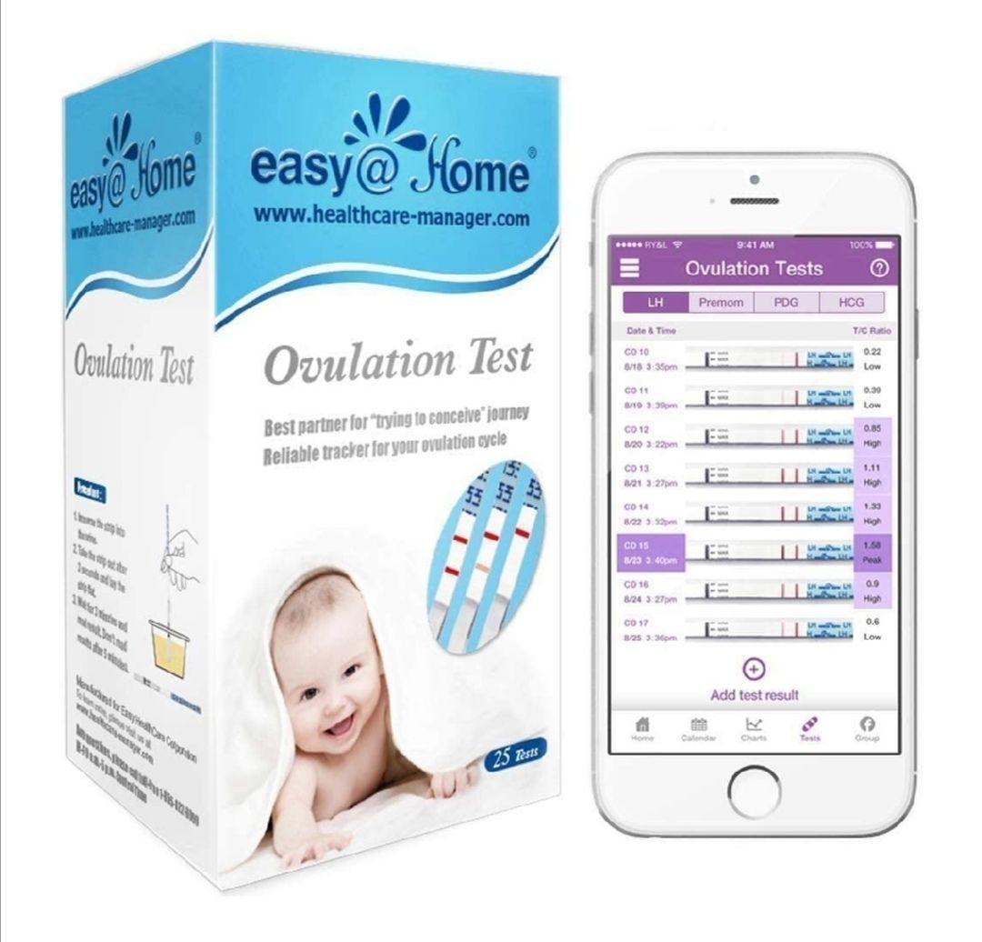 25 Pruebas de ovulación ultrasensibles