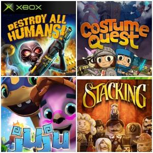 XBOX :: Gratis Costume Quest, Destroy All Humans!, Ikaruga,Juju y otros