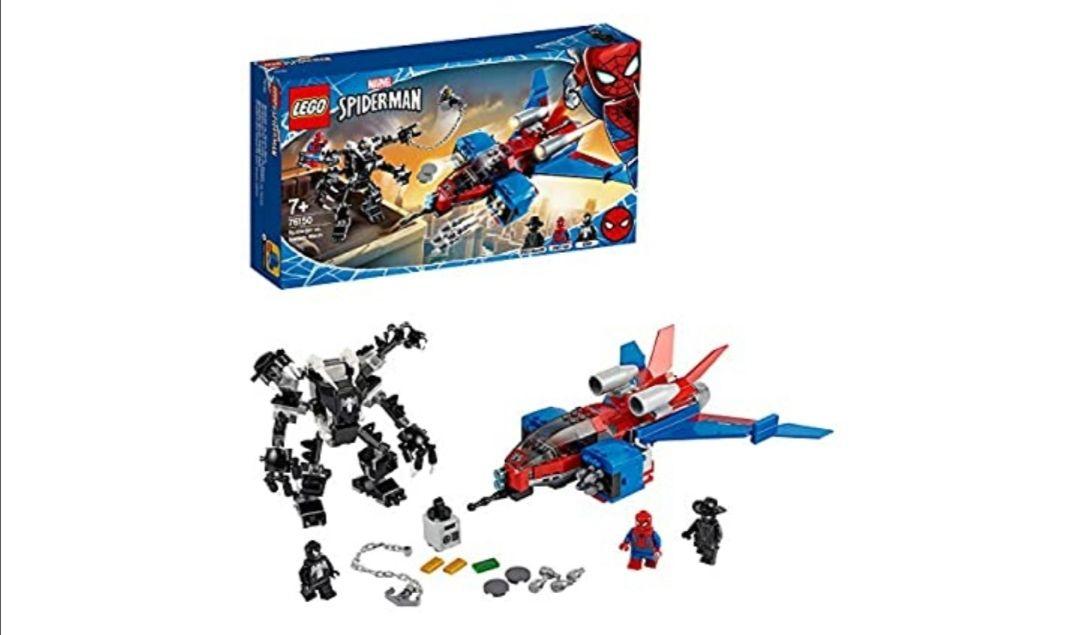 LEGO Super Heroes - Jet Arácnido vs. Armadura Robótica de Venom