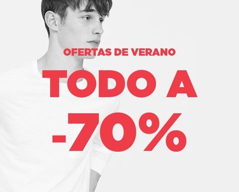 TODO al 70% de descuento en Mango Outlet