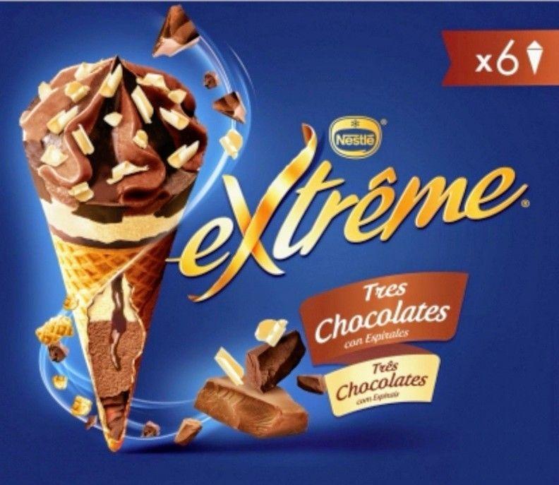 Conos Extreme por 0.99€ (Diferentes sabores)